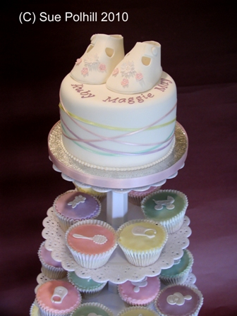 Christening Cakes From Sue Polhill Wedding And Celebration Cakes Of